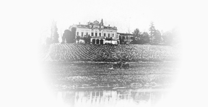 Old photo of Château Le Crock